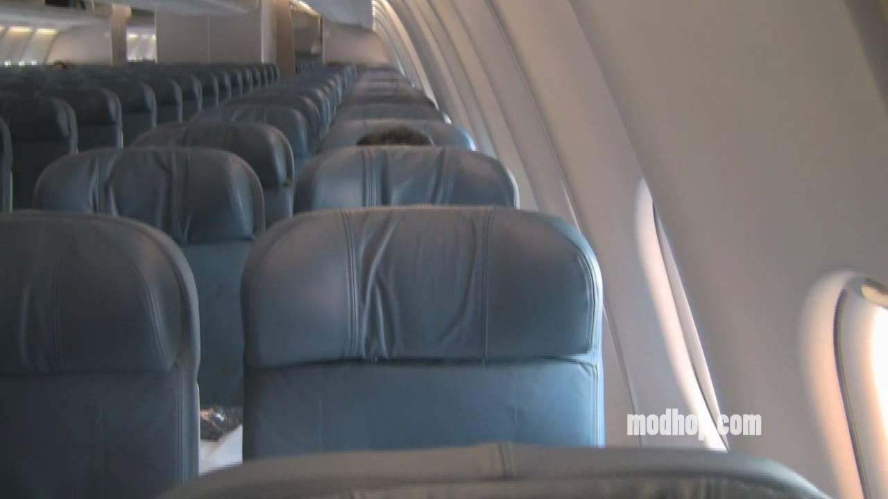 Video Delta A330 300 Economy Seat 10a Exit Modhop Com