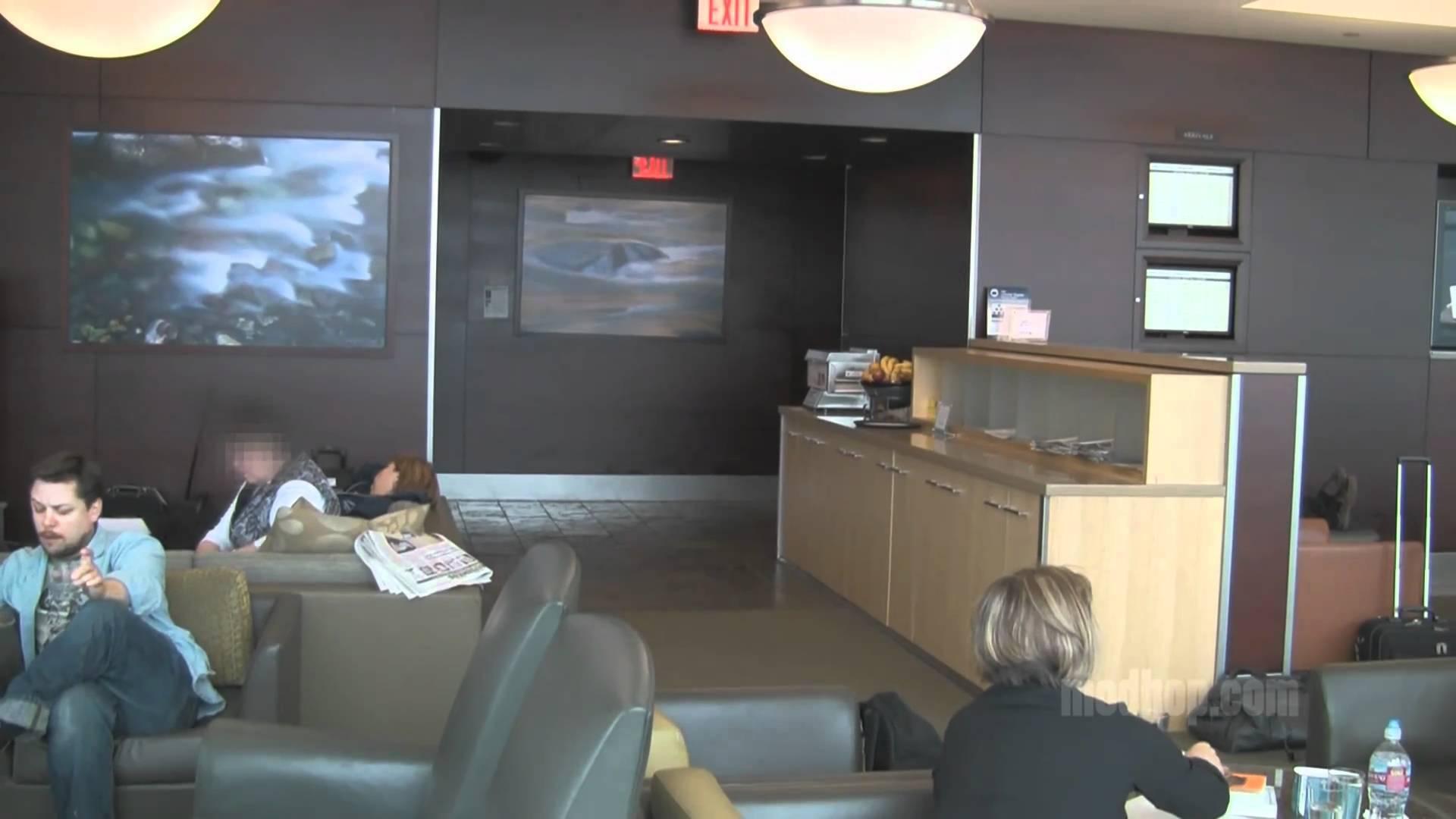 Video Alaska Airlines Boardroom Sea Seattle Tacoma