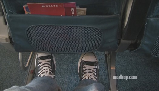 Video | Delta Airlines MD 90 – Economy Seat 28C (Exit)