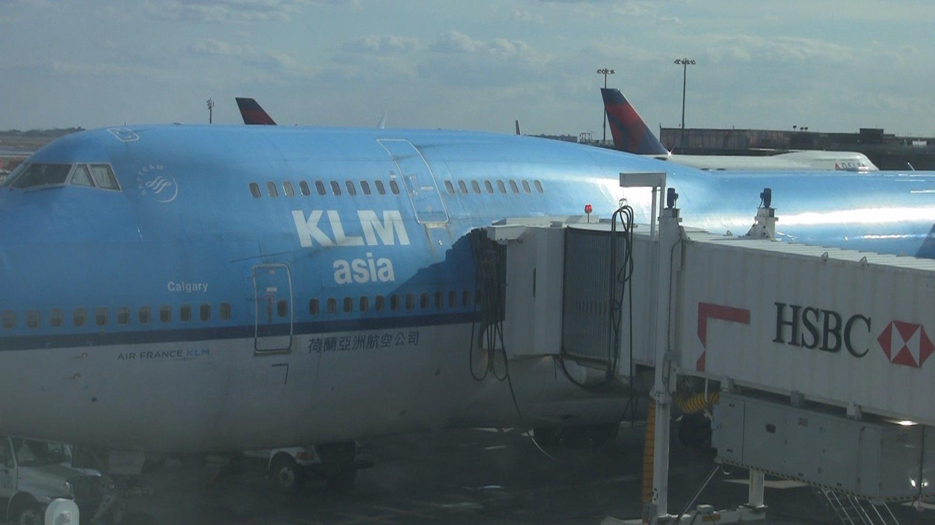 Klm Boeing 747 400 74m Klm Economy Comfort Seat 9a
