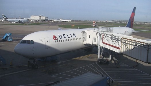 Video | Delta – Boeing 767-400 (76D) Exit Row Seats 30F-G