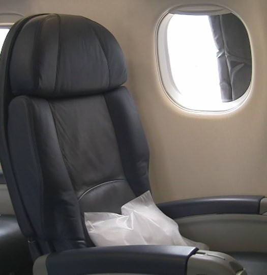US Airways Express First Class Seat