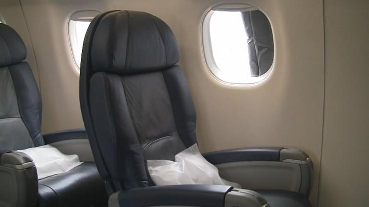 US Airways Express First Class Seat