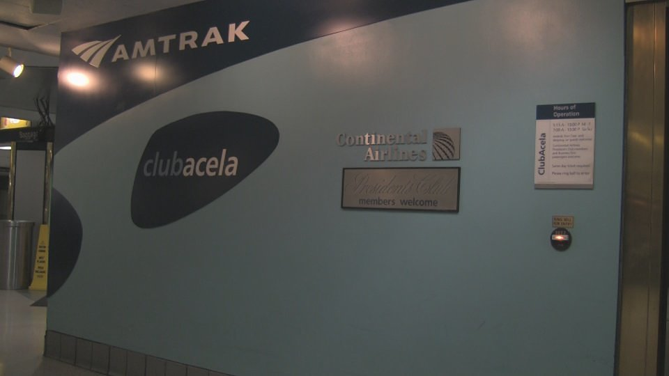 Amtrak ClubAcela - New York Penn Station