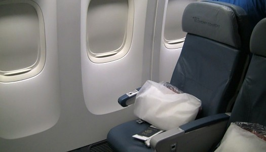 Delta 777-200 Economy Comfort Seats 31-32J