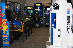 Lucky Lindy's Arcade at MSP