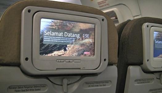 Garuda Indonesia 737-800 NG Exit Row 15