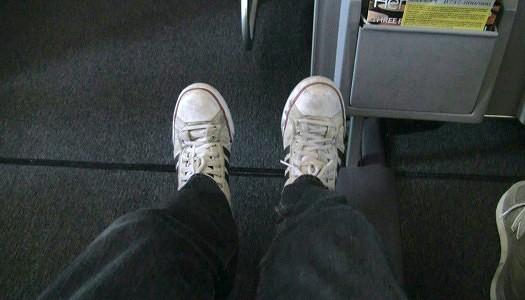 United Airines 737-800 premium Economy Plus Seat 7D