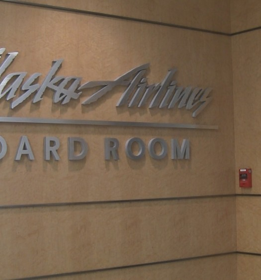 LAX Alaska Airlines Board Room