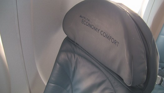 Video | Delta Airlines CRJ-700 Economy Comfort Row 4