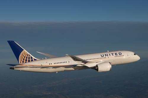 United 787 Dreamliner Wings