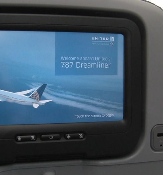 Dreamliner Personal TV Screen