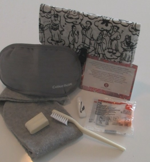 Cathay Pacific Premium Economy Amenities