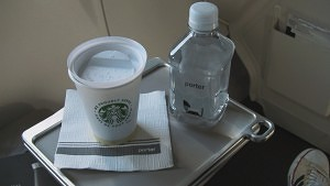 Starbucks and Water