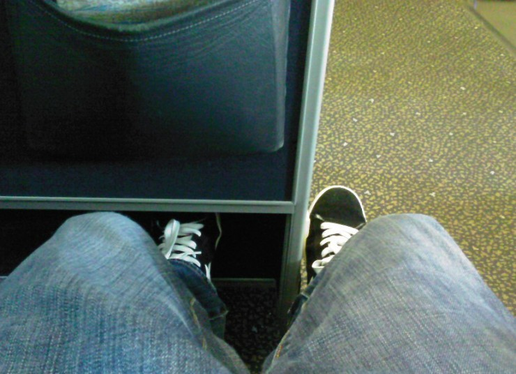 United A319 Seat 1B