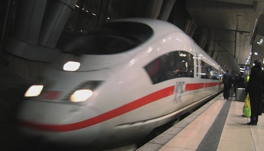 Video | Deutsche Bahn ICE Train – First Class Quiet Cab