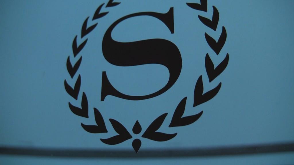 Sheraton Dusseldorf Window Logo