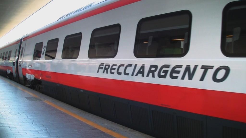 Trenitalia Frecciargento Train