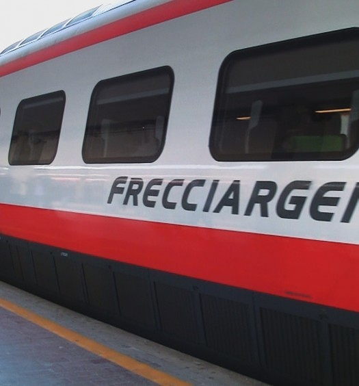 Trenitalia Frecciargento Train