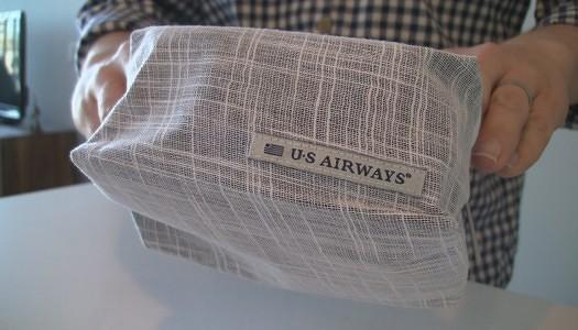 Video | US Airways Envoy Class Amenity Kit unBOX