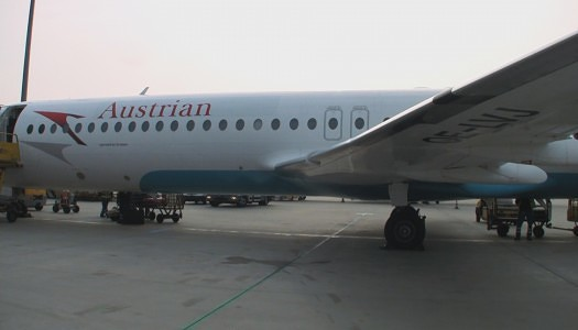 Video | Austrian Airlines F100 – Business Class 1D – 1F