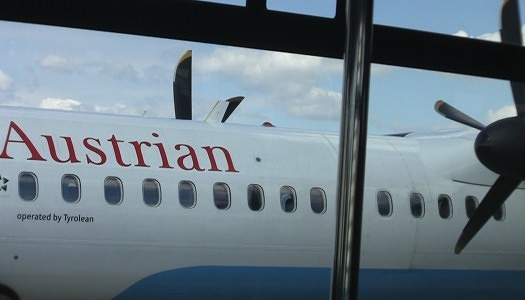 Video | Austrian Airlines Business Class – Dash 8 or Q400