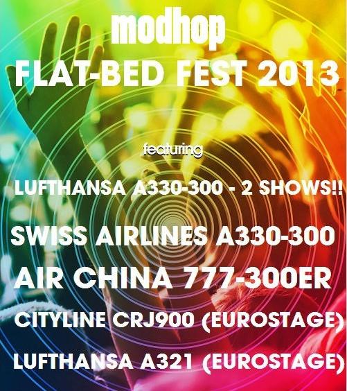 Flat-Bed Fest Poster