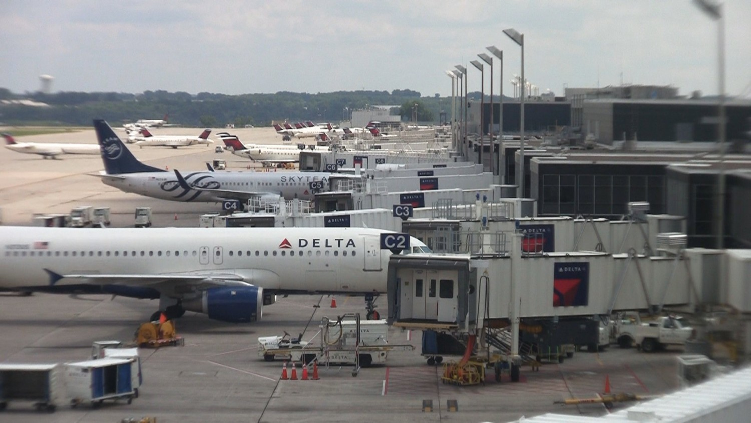 View from MSP observation deck.