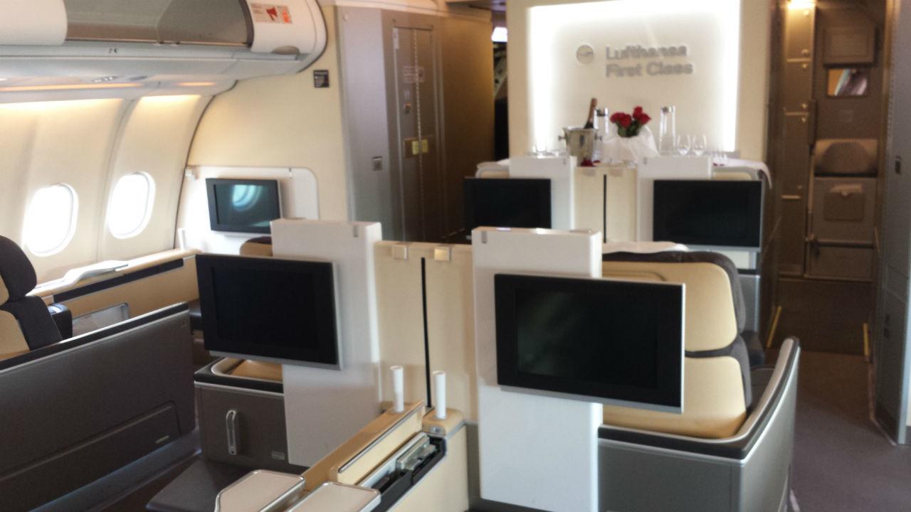 Lufthansa First Class A330-300