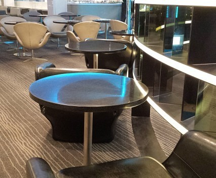 Eva Air - Lounge seating