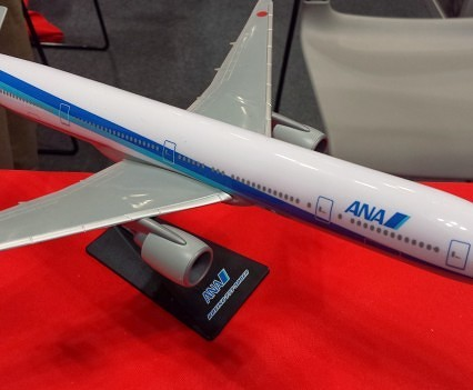 ANA model plane.