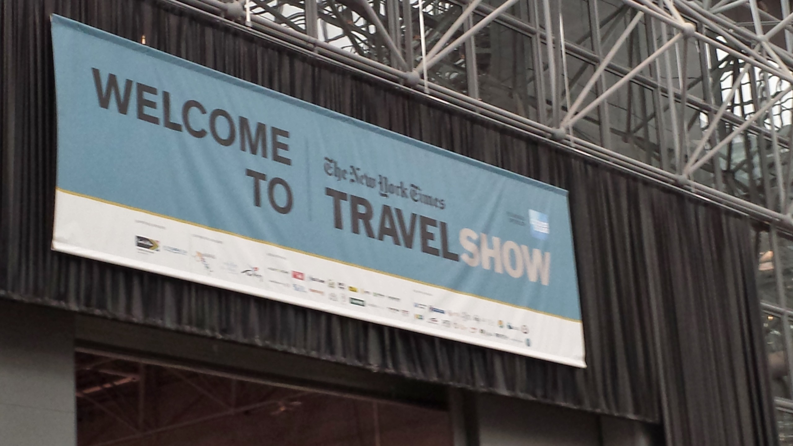 NY Times Travel Show Banner