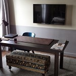 Desk in Deluxe Room.