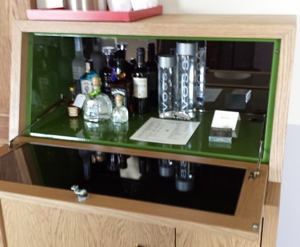 Minibar at Hollywood Roosevelt Deluxe Room