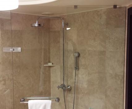 Shower at Grand Hyatt Istanbul