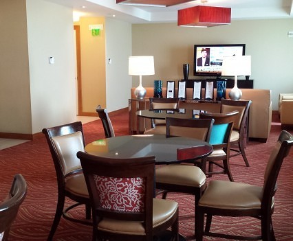 Club Lounge at Hilton Orlando.