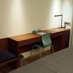 Desk in superior room. Hotel Shin Shin.