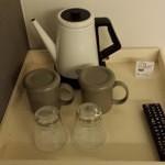 Hot water pot.