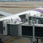 Jetways leading to Thai A330-300