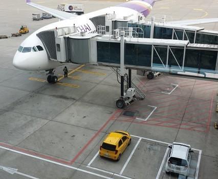 Outside a Thai A330-300
