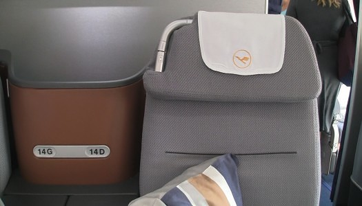 Video | Lufthansa Business Class A330-300 14D