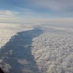 Cloud shelf from 787 windows.
