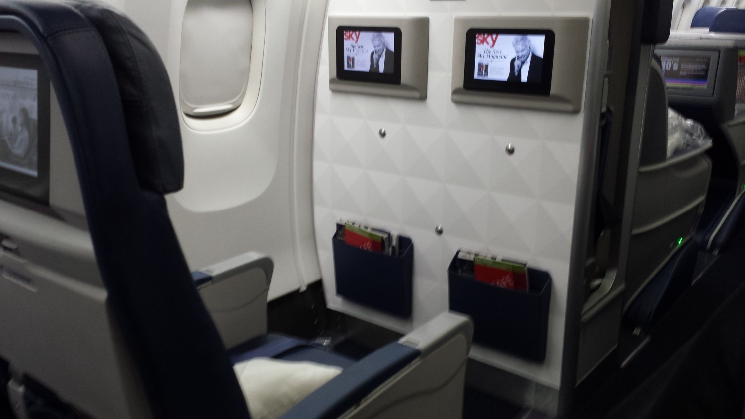 1A and 1B aboard Delta 767-300.