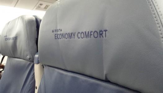 Gallery | Delta 767-300 Economy Comfort Seat 14C