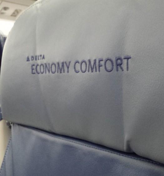 Economy Comfort headrest.