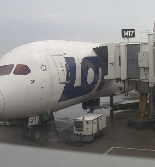 LOT Polish Airlines Dreamliner
