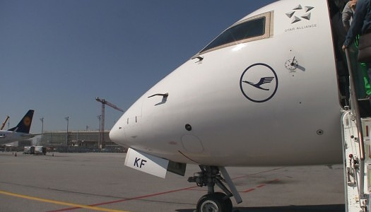 Video | Lufthansa Cityline Business Class CRJ-900 – 2F