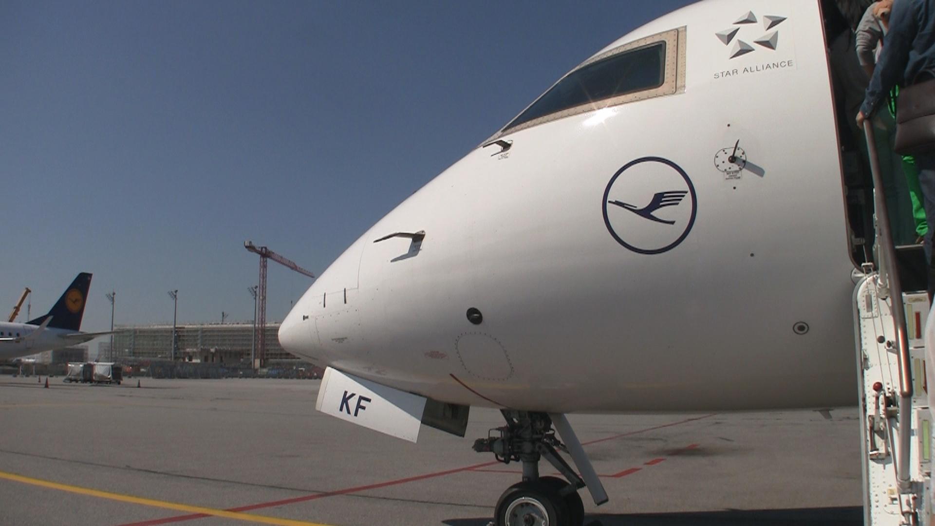 Video Lufthansa Cityline Business Class Crj 900 2f
