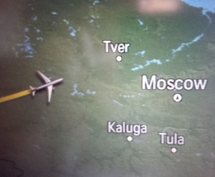Swiss Airlines Moving Map