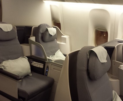 Seats 17 A and 17C.